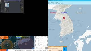 [지진관측 진도0] 도…
