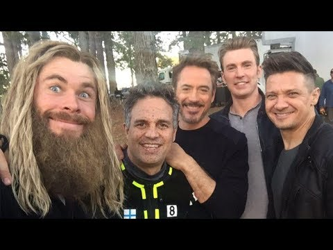 Avengers: Endgame Cast Shares Epic Behind-the-Scenes Footage