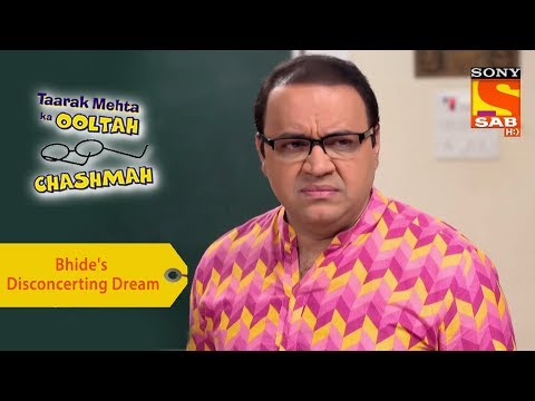 Your Favorite Character | Bhide's Disconcerting Dream  | Taarak Mehta Ka Ooltah Chashmah thumbnail