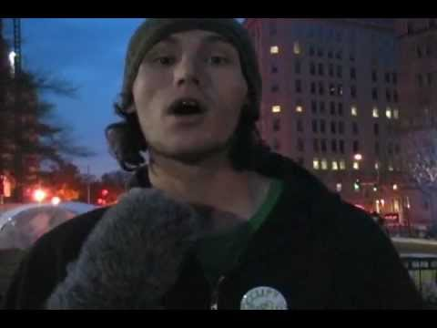 Occupy: Interview w/ Sean Coverage by Kathy Roberts ©GIFTOFSTRENGTH.com® Productions