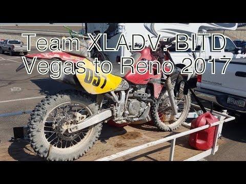 Team XLADV: 2017 Vegas to Reno (Ken Weaver; XR650R) - YouTube
