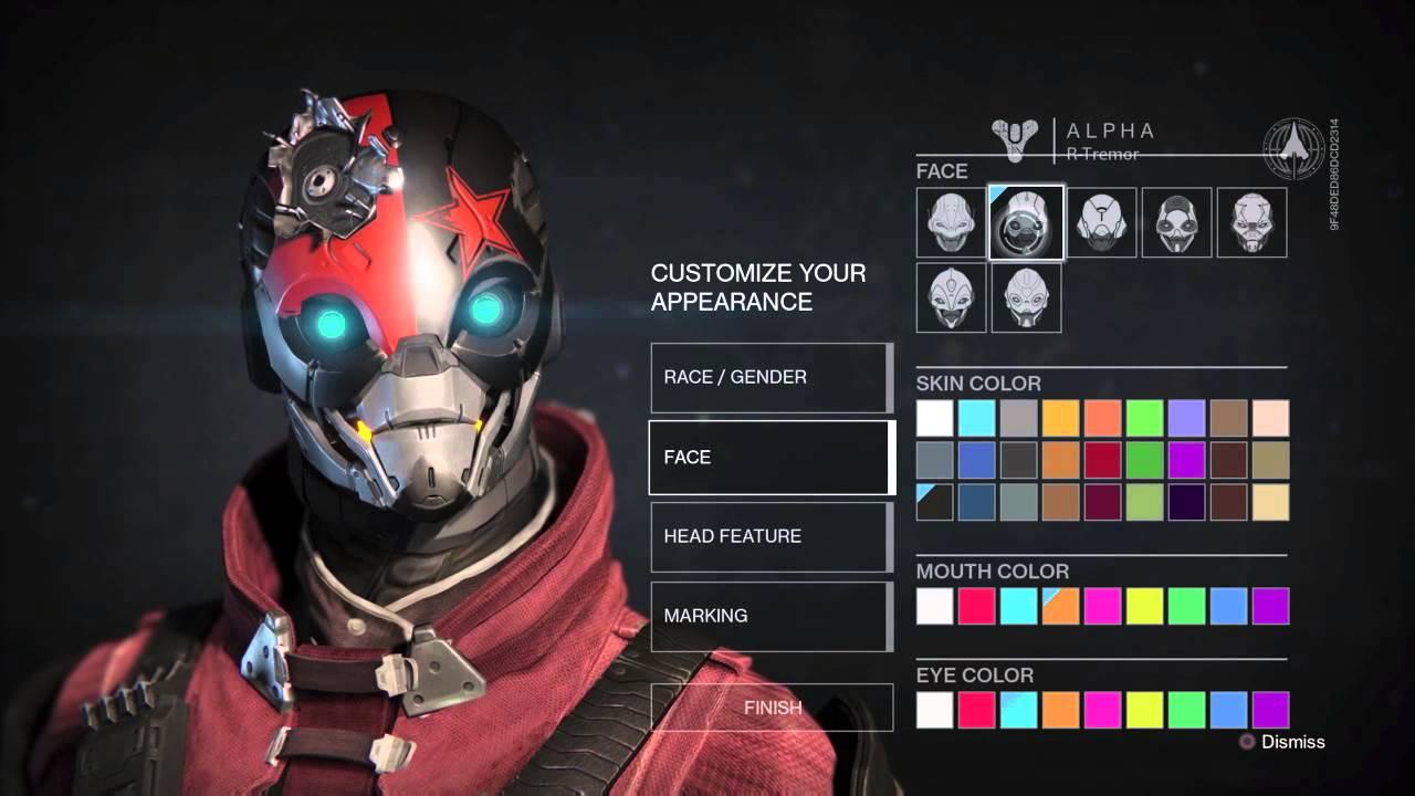 destiny character creation - photo #8