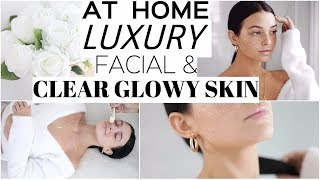 LUXURY SPA AT HOME! | Clear Skin 4 Back to school