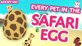 """Are Hyenas good mothers?!"" 👩‍👦 Every Pet in the Safari Egg! 🦒 Adopt Me! on Roblox"