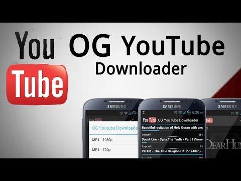 OG YouTube Downloader v1.2 APK (ÚLTIMA VERSIÓN)