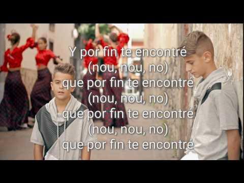 Por Fin Te Encontré letra  - Adexe & Nau ( Cali & El Dandee ft Juan Magan, Sebastian Yatra cover)