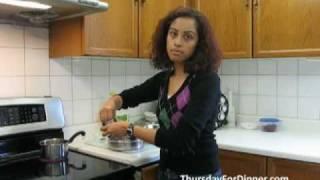 Cabbage Sambharo (warm Spiced Cabbage Salad) - Thursdayfordinner.com