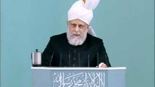 (Bengali) Friday Sermon 6th May 2011 The Correct Islamic Viewpoint of Intercession