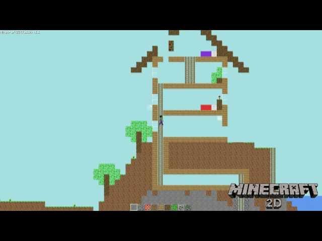 Minecraft2D - Fullscreen, Particles