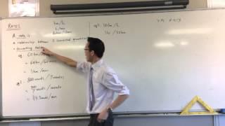 Understanding Rates: Relationships Between Quantities
