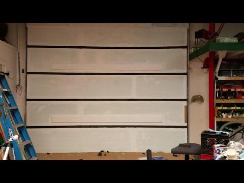 Garage Door, Greatest Insulation,Best Ever, How To,Part-2