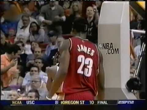 LeBron James Demoralizes Damon Jones