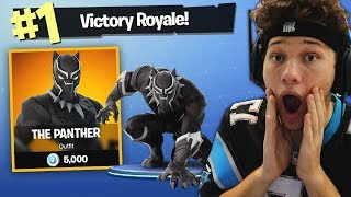 THE BLACK PANTHER CHALLENGE in Fortnite Battle Royale streaming