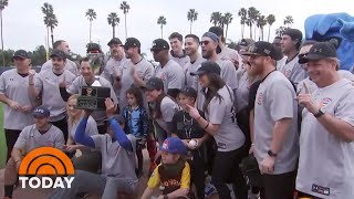 California Strong: Celebs Play Softball For Great Causes | TODAY
