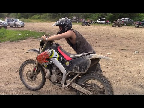 FIRST RIDE ON A CR500!!  (Wellsville Ohio Free Zone Rippin)