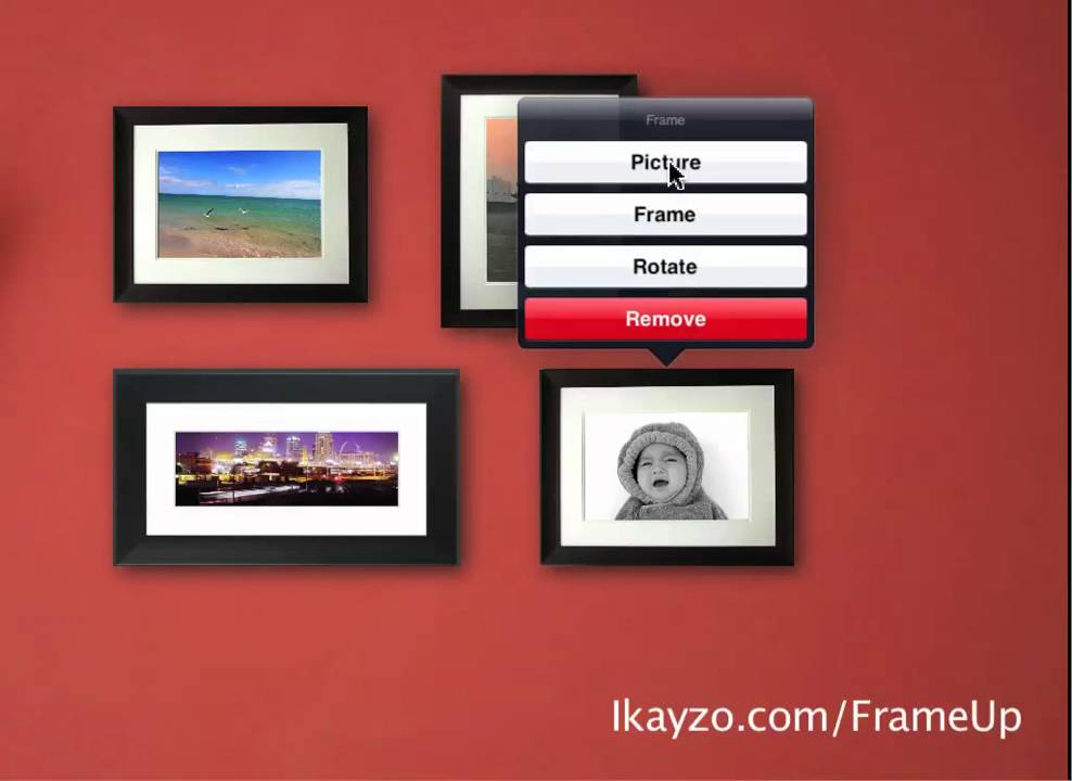 Frame Up iPad App - YouTube