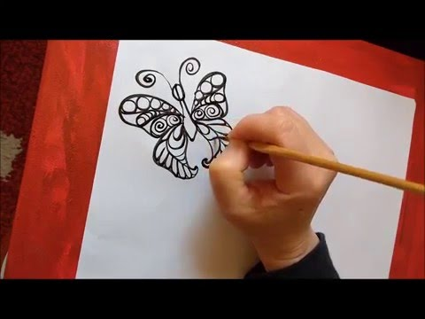 how-to-draw-a-butterfly-step-by-step.-part-1.