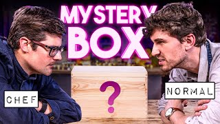 BEAT THE CHEF: MYSTERY BOX COOKING CHALLENGE!! | SORTEDfood