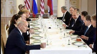 Trump and Putin meet in Helsinki | CCTV English