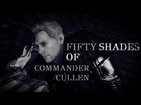 "[ DA: I ] Cullen / Trevelyan ""You've Been A Very Naughty Mage"" 50 Shades Of Cullen"