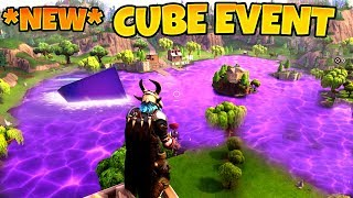 *NEW* CUBE EVENT - RIP Loot Lake 2018 | Fortnite FINAL EVENT - Best Moments & Fails