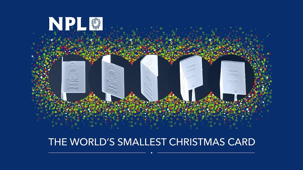 The worlds smallest christmas card youtube the worlds smallest christmas card kristyandbryce Image collections