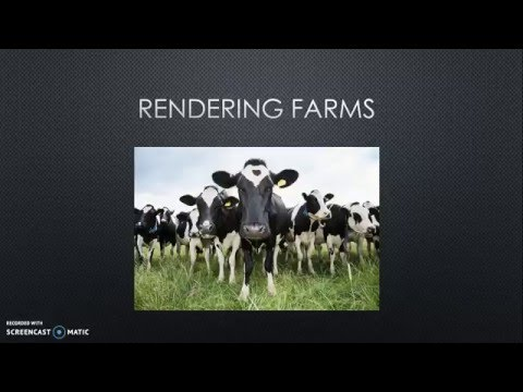 Rendering Farms