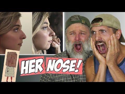 Reacting To Gabbie's BIG Nose Job!! The Gabbie Show (I GOT A NOSE JOB)