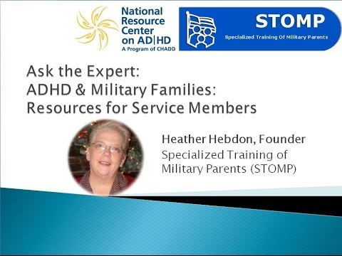 ADHD & Military Families: Resources for Service Members