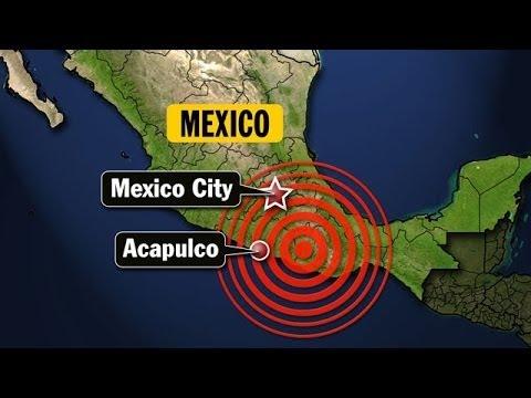 Earthquake : Powerful 7.2 Magnitude Earthquake strikes Acapulco Mexico (Apr 18, 2014)