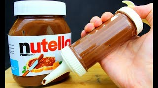 12 Simple Tricks and Ideas with Nutella