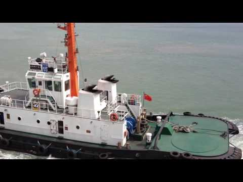 China Harbor Boat Video