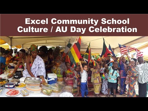 Excel Community School AU Day Celebration