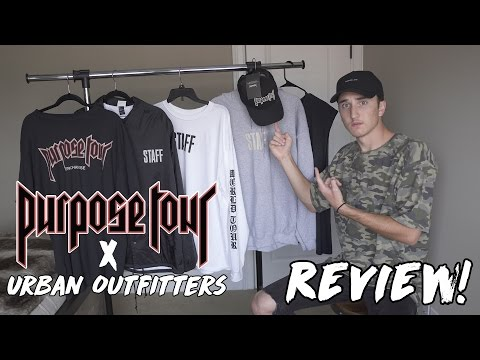 Purpose Tour X Urban Outfitters Review! Full Collection!