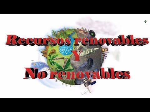 Recursos Renovables Y No Renovables ( Tarea De Mi Primo XD )