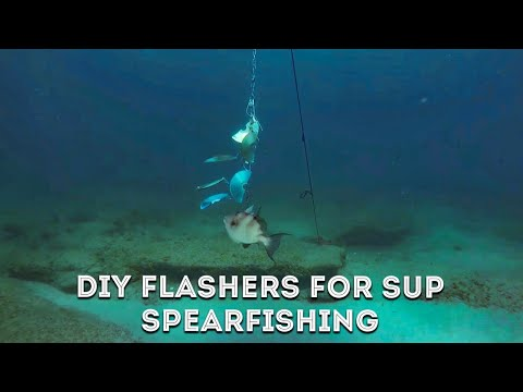 DIY: Flashers For SUP Spearfishing