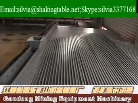 Shaking table installation video