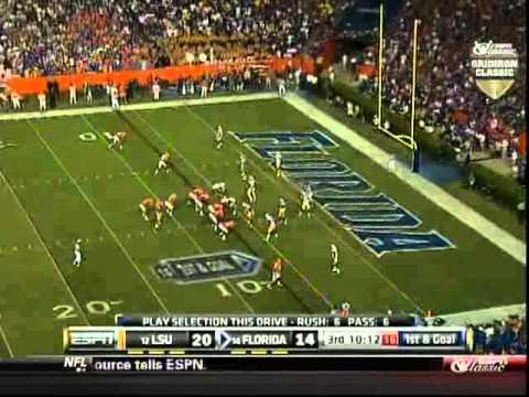 12 LSU vs 14 Florida 2010