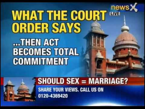 NewsX: Is pre-marital sex a crime?  - Part 4