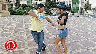 Девушка и Парни Классно Танцуют В Баку 2018 Лезгинка Новое Поколение