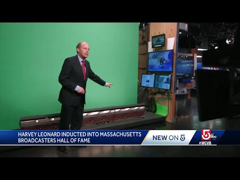 WCVB's Harvey Leonard Inducted Into Mass. Broadcasters Hall Of Fame