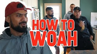 HOW TO WOAH (Hit The Woah Challenge)