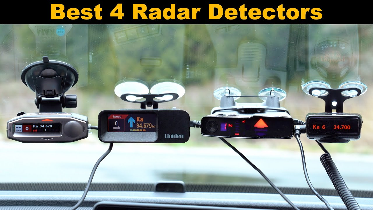 Best 4 Radar Detectors for Early 2020 - YouTube