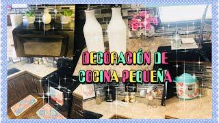 MI COCINA/COMO DECORAR UNA COCINA PEQUEÑA/IDEAS PARA DECORAR/DECORACION DE PRIMAVERA.