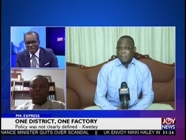 One District, One Factory - PM Express on JoyNews (9-10-18)