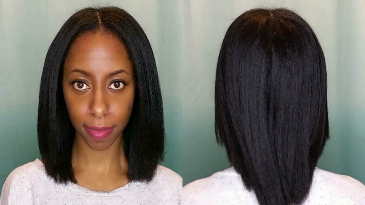 how i straighten my hair how i get my 4c hair without heat damage 31070