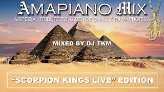 Amapiano Mix | 2020 | Scorpion Kings Live (Full Album) | Tribute to Kabza & Maphorisa | DJ TKM
