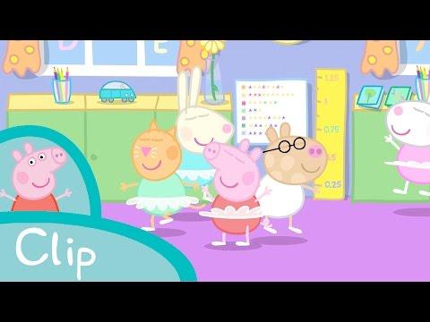 Peppa Pig Episodes - Ballet lesson (clip) - Cartoons for Children