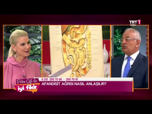 Ağrıların Vücudumuzdaki Belirtileri - Prof. Dr. Hasan Taşçı - TRT 1 - Pelin Çift ile İyi Fikir