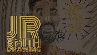 JR SMITH- How to Draw
